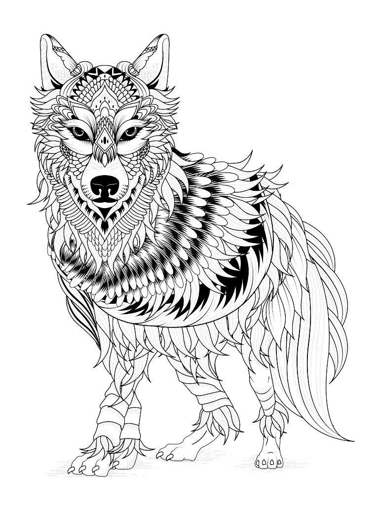 Wolf Coloring Pages Malvorlagen Pferde Ausmalen Und Malvorlagen