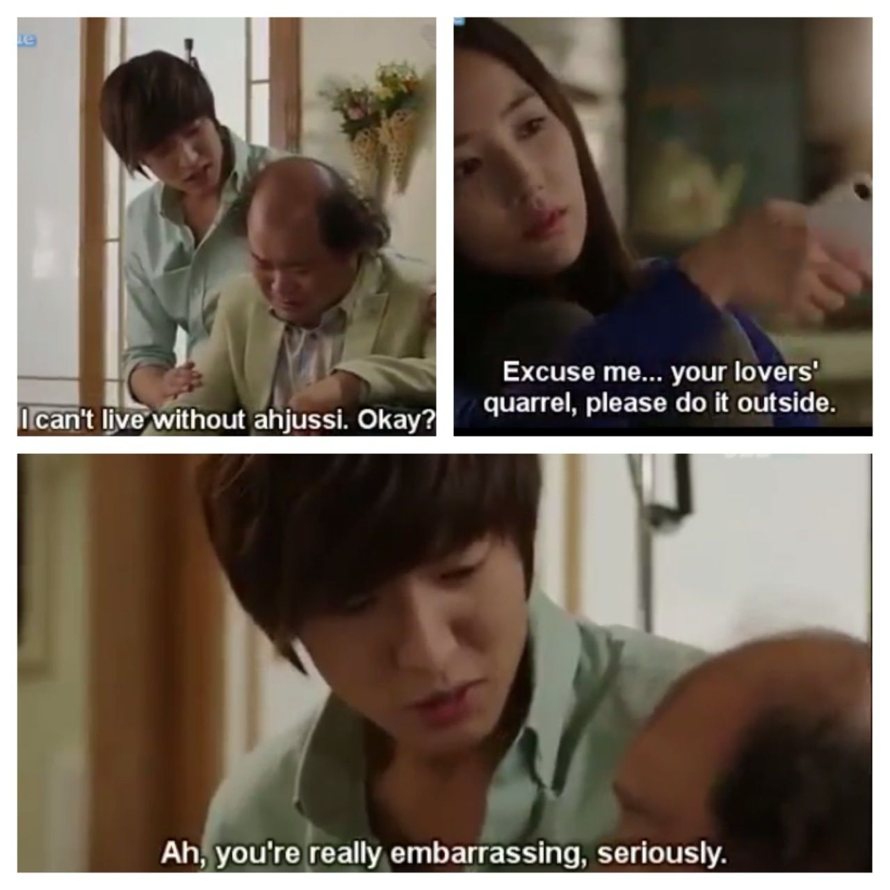 City Hunter!!!! This scene made me laugh so hard (: