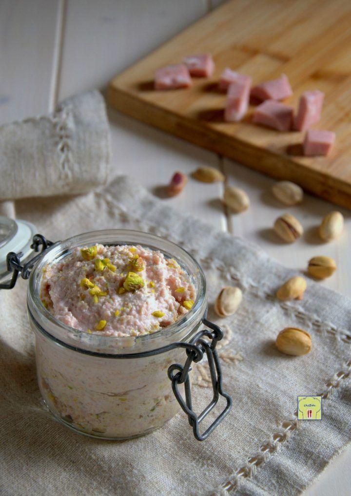 mousse di mortadella e pistacchi gp