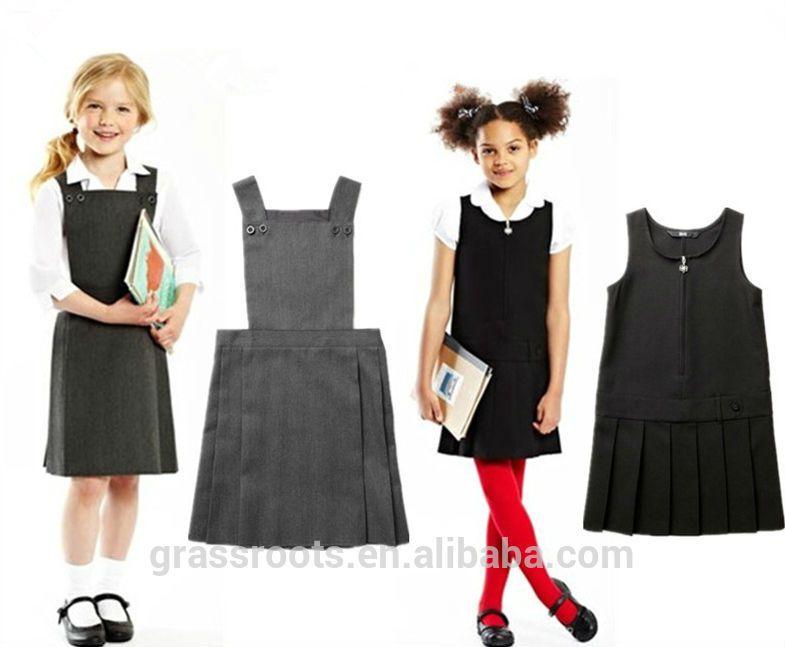 fashionable primary school uniform design school dress for
