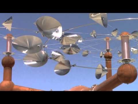 Kennebunkport Wind Sculptures, Maine Garden Spinners - YouTube ...
