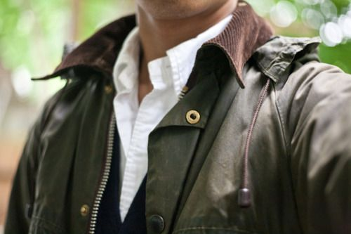 One's closet is not complete without Barbour.