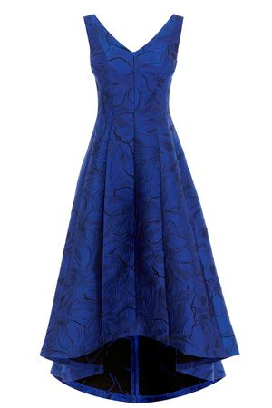 The Alloway Jacquard High Low Maxi Dress is perfect for your ...