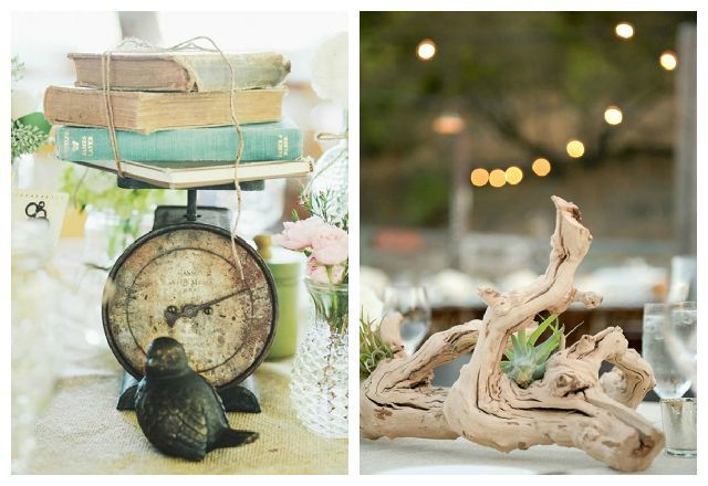 6 Stunning Nonfloral Wedding Centerpieces Floral Wedding and Blog