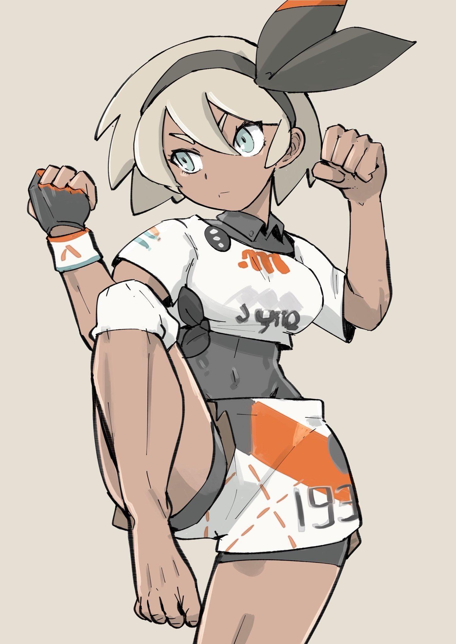 Gym Leader Bea | Pokémon | Pokemon, Pokemon twitter, Pokemon