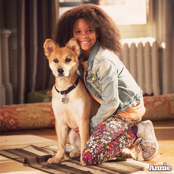 Annie & Sandy Annie Movie 2014 Movies 2014, Movies, Annie