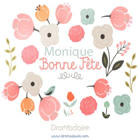 Carte Virtuelle Bonne Fete Monique.Epingle Par Dromadaire Sur Prenoms Bonne Fete En 2019