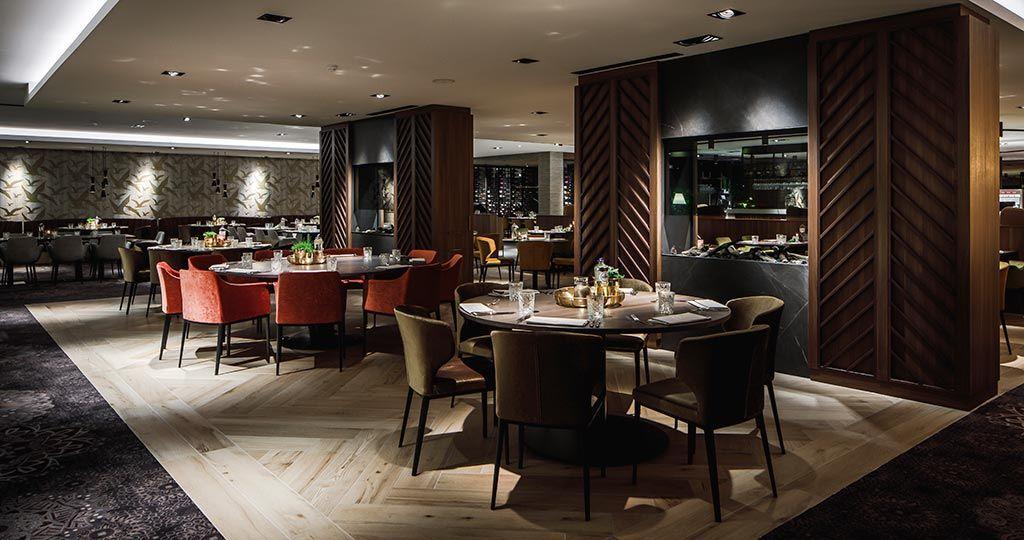 PORCELANOSA Gruppo projects: materiali intalterabili di ispirazione naturale al ristorante 28 DINING