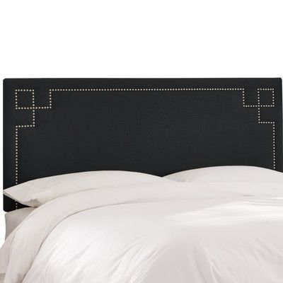 Willa Arlo Interiors Diego Upholstered Panel Headboard Size: King ...