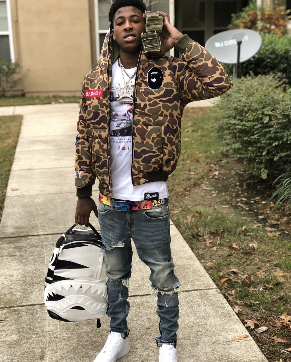 Pin by Cash Szn on Nba Youngboy Nba outfit, Rapper