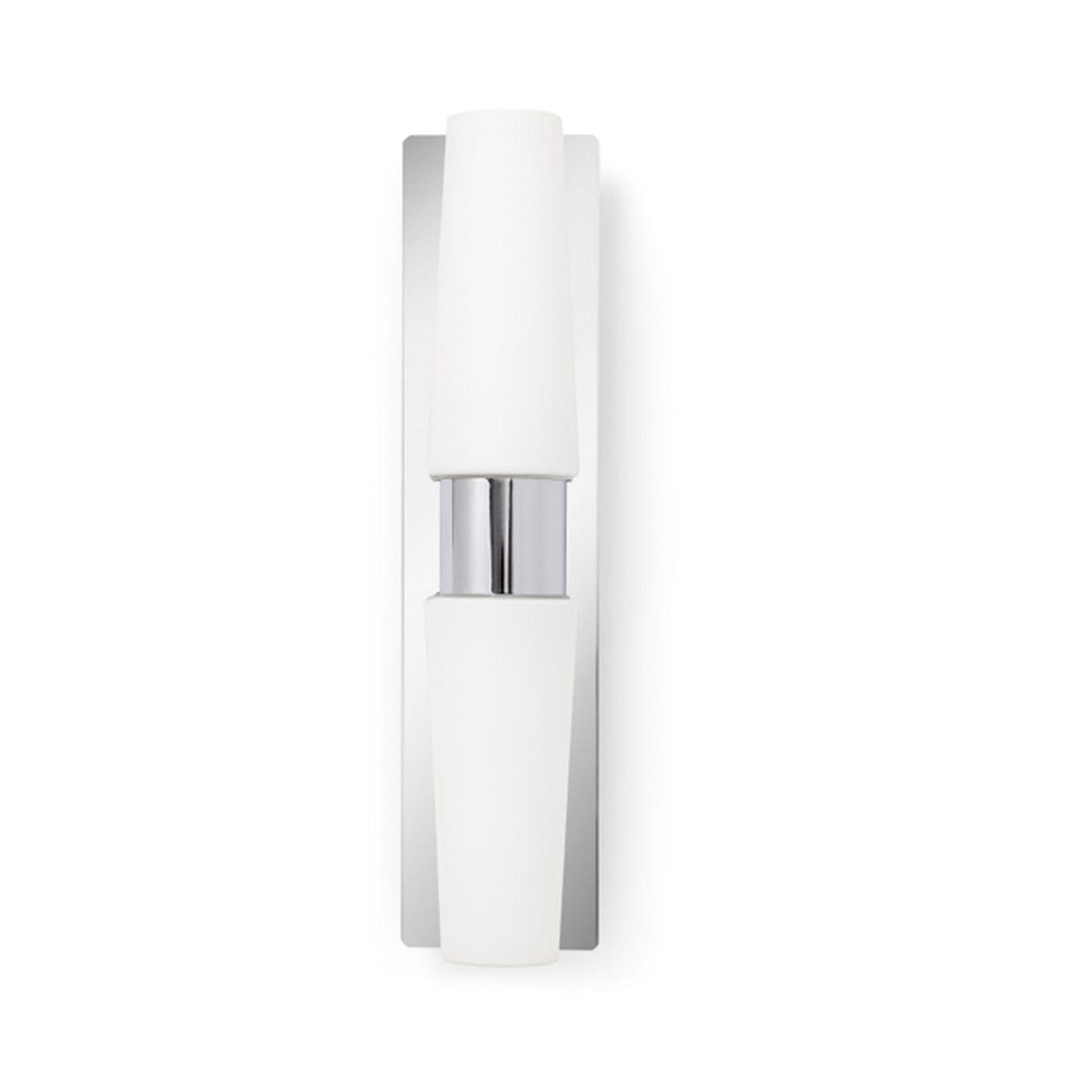 Aplique de pared ba o de doble luz iluminacion lamparas for Lamparas led para banos