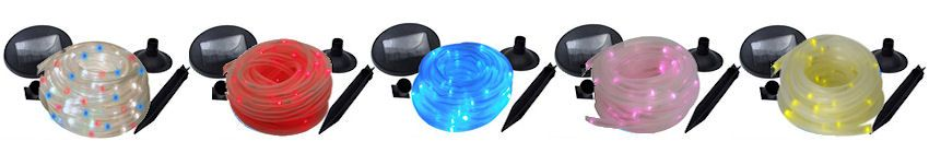 Solar rope lights gardens outdoor spaces pinterest gardens solar rope lights aloadofball Choice Image