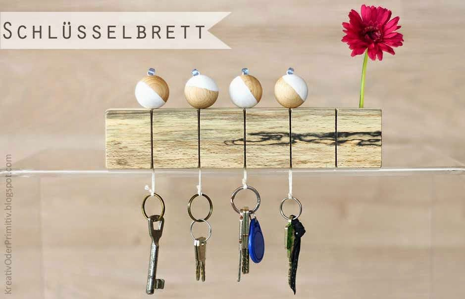 Designer, Schlüsselbrett, Aufbewahrung, Schlüssel, Holz, Kugeln - holz deko selber machen