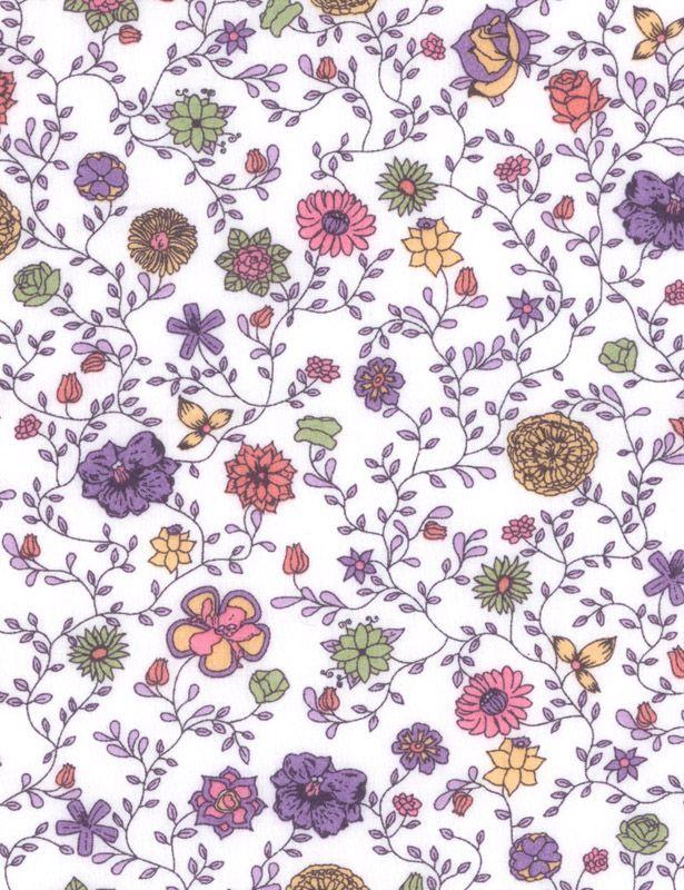 Flora Fusion D Tana Lawn