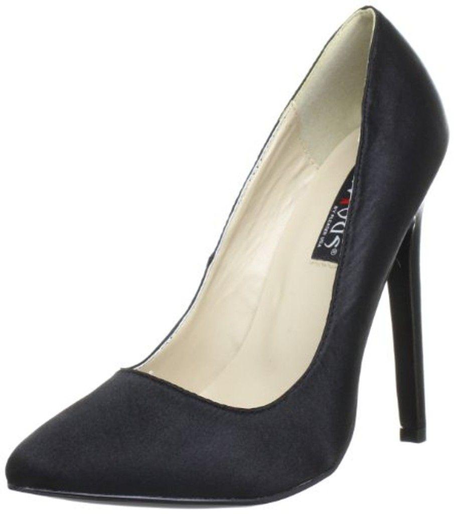Pleaser Classique 20Sp, Escarpins Femme, Noir (Blk Snake Print Leather) 41 EU