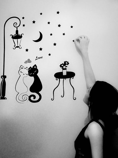 decoracion paredes decoracion paredes Pinterest Wall sticker - decoracion de paredes