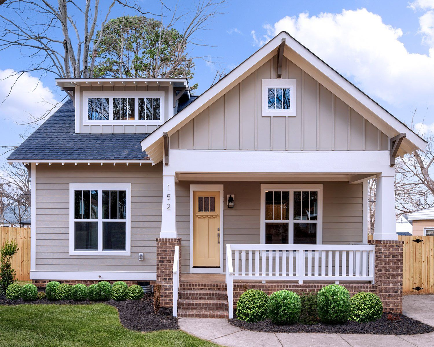 A Craftsman Bungalow Cottage I Did It All 3 Styles In: Craftsman Bungalows, Cottage House Plans
