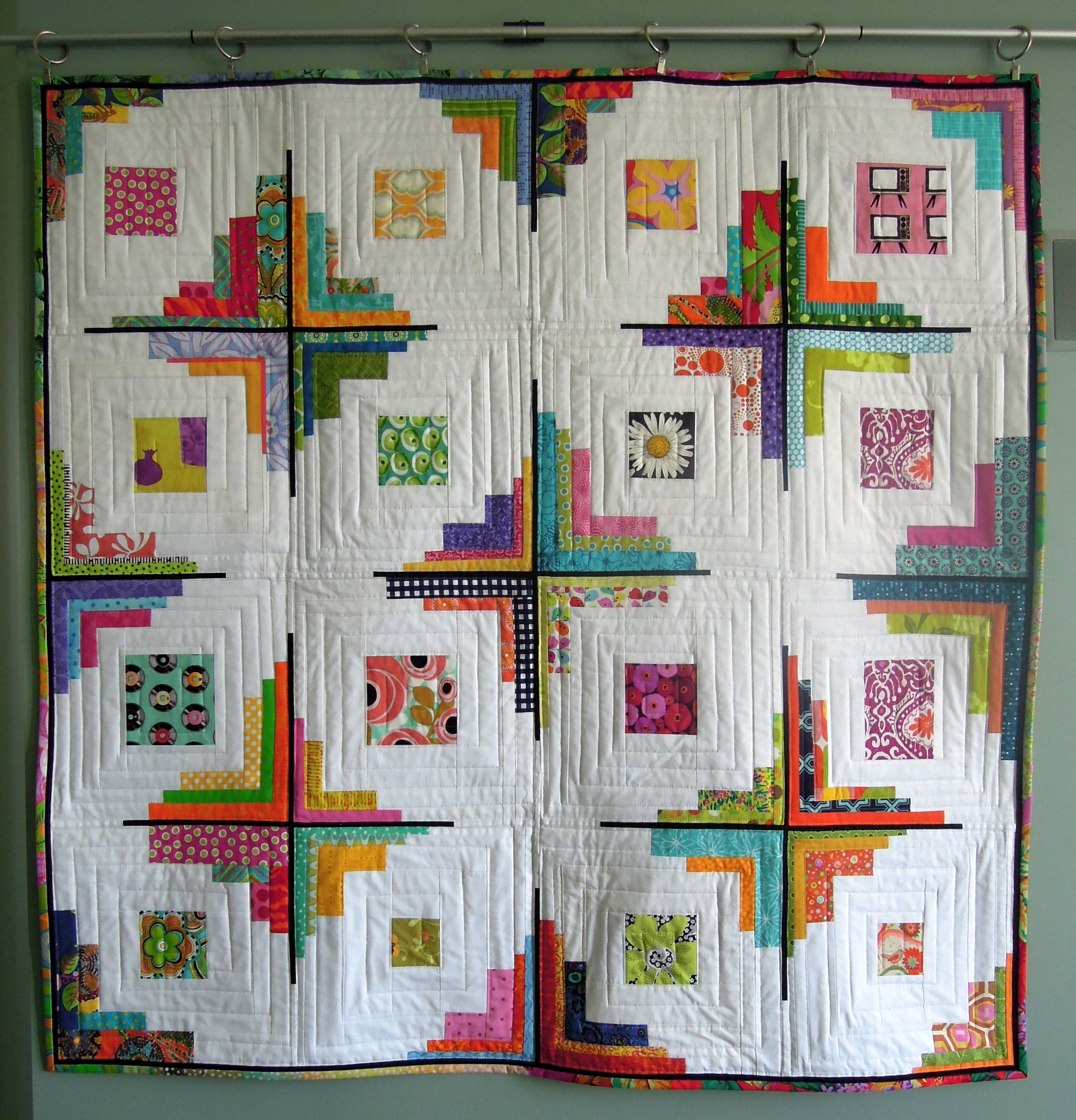 Converging Corners Terry Aske Art Quilt Studio Log Cabin Quilt Pattern Abstract Quilt Log Cabin Quilts