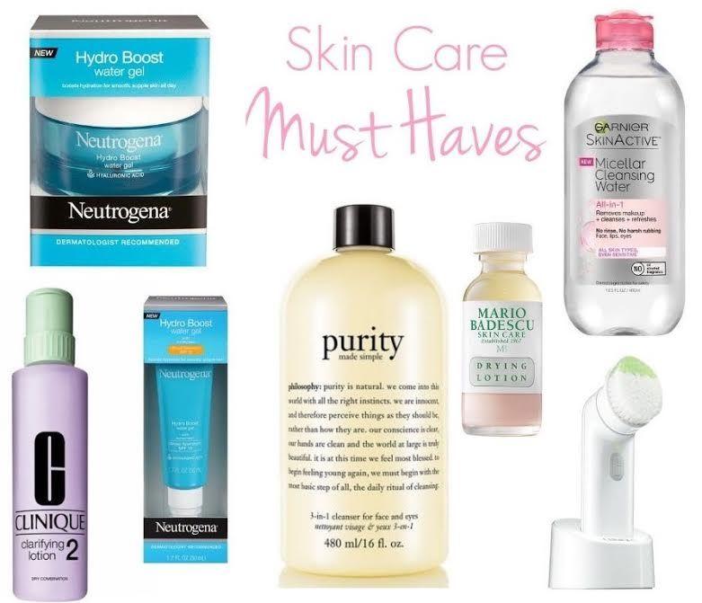 My Skin Care Must Haves Skin Care Oily Skin Care Diy Skin Care