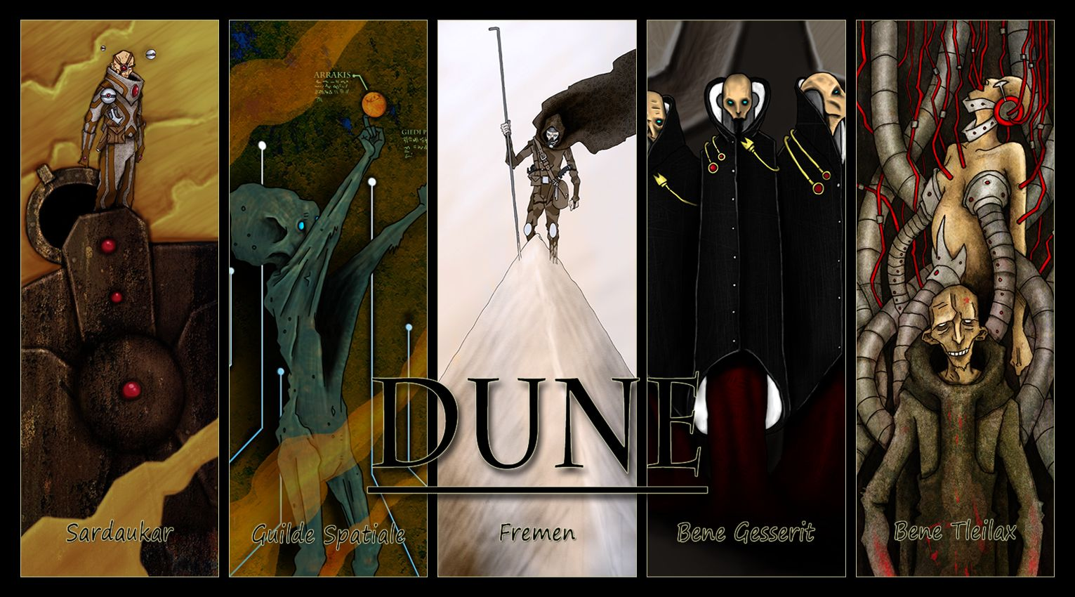 Dune Wallpaper By A Fornerot On DeviantArt
