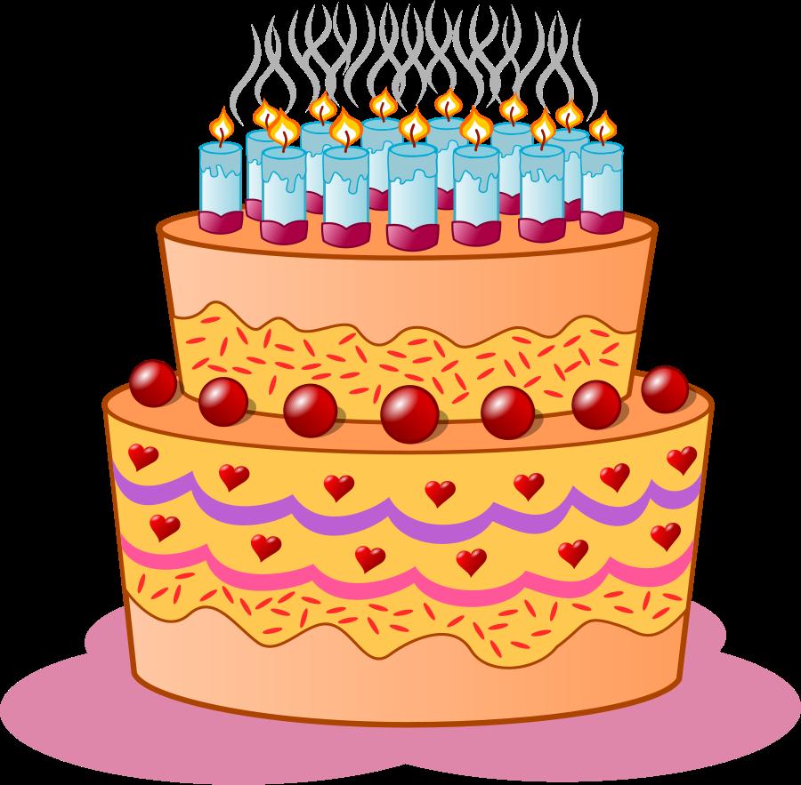 10 Mewarnai Gambar Kue Ulang Tahun Bonikids Coloring Page In