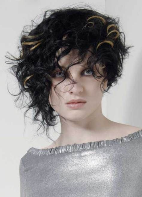 Asymmetrical Haircuts Curly Hair