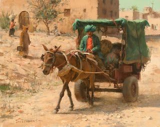 scott powers artist | TALLMAN SCOTT POWERS - Entrega na vila, Marrocos
