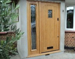 ideas about wooden front doors and frames free home designs