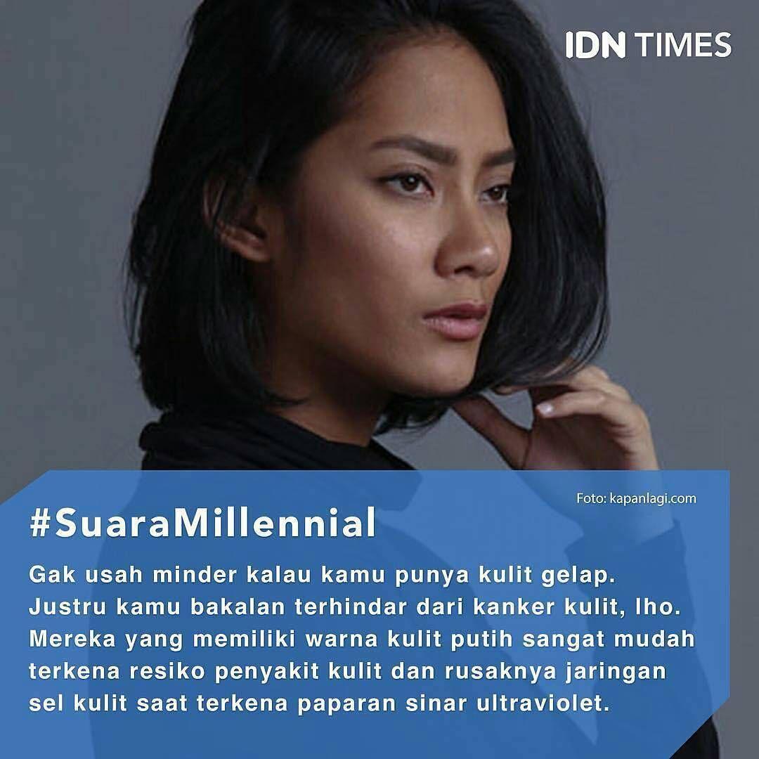 Menurut persepsi masyarakat Indonesia, wanita cantik