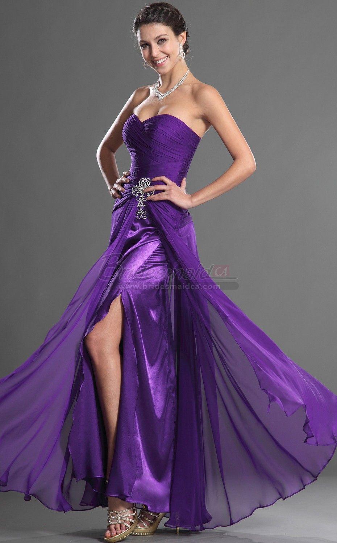 Regency Long Chiffon Sweetheart Neckline Mermaid Bridesmaid Dress in ...