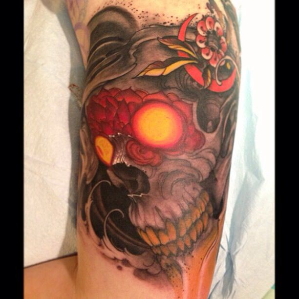 Jeff Gogue Skull Tattoo