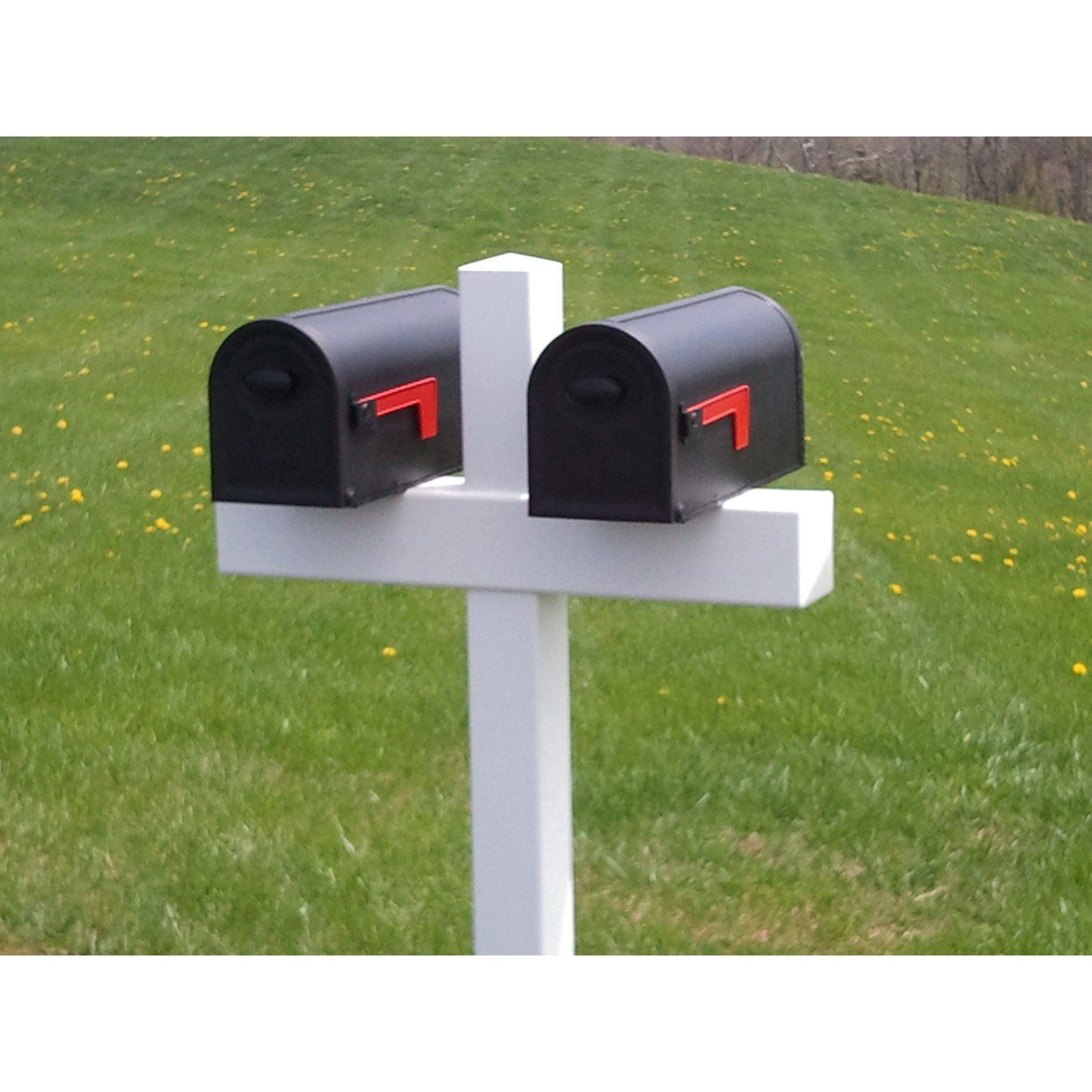 Cook Products Handy Double Mailbox Post Double Mailbox Post Mailbox Post Diy Mailbox