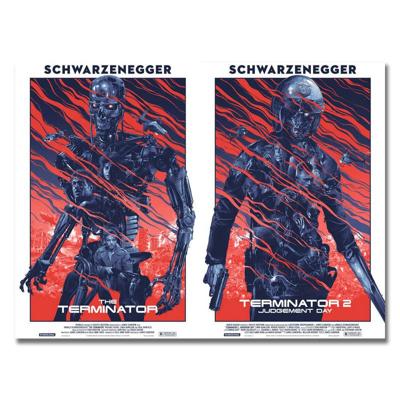 Arnold Schwarzenegger Movie Silk Poster 13x18 24x32/'/'  J027 Terminator Genisys