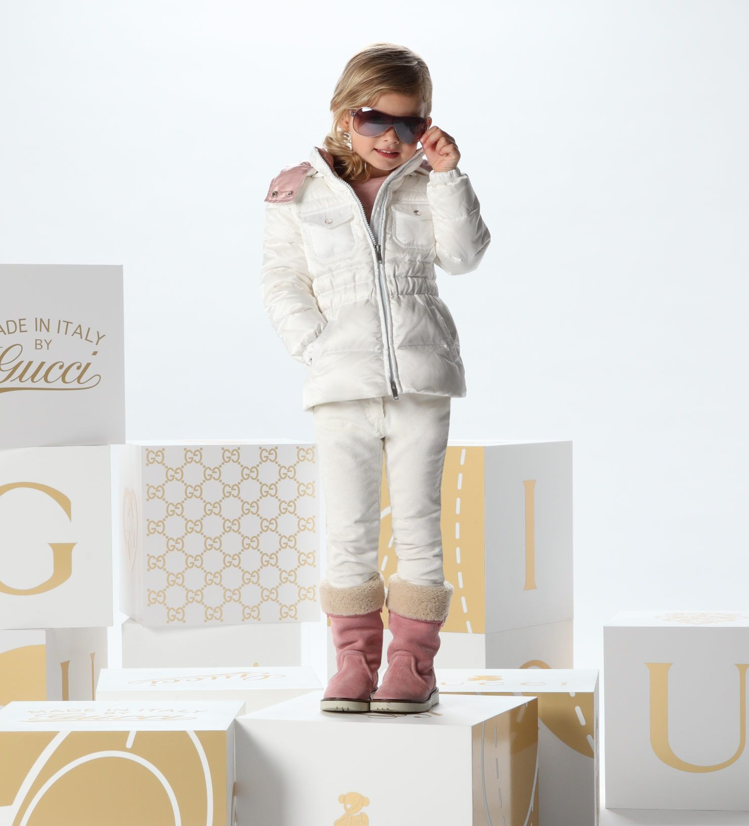 d7e359c4eb2 Cute ski outfit for girls by Gucci