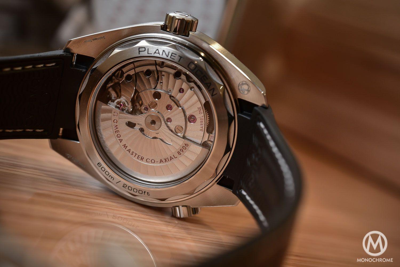 Omega Seamaster Planet Ocean GMT Master Chronometer movement