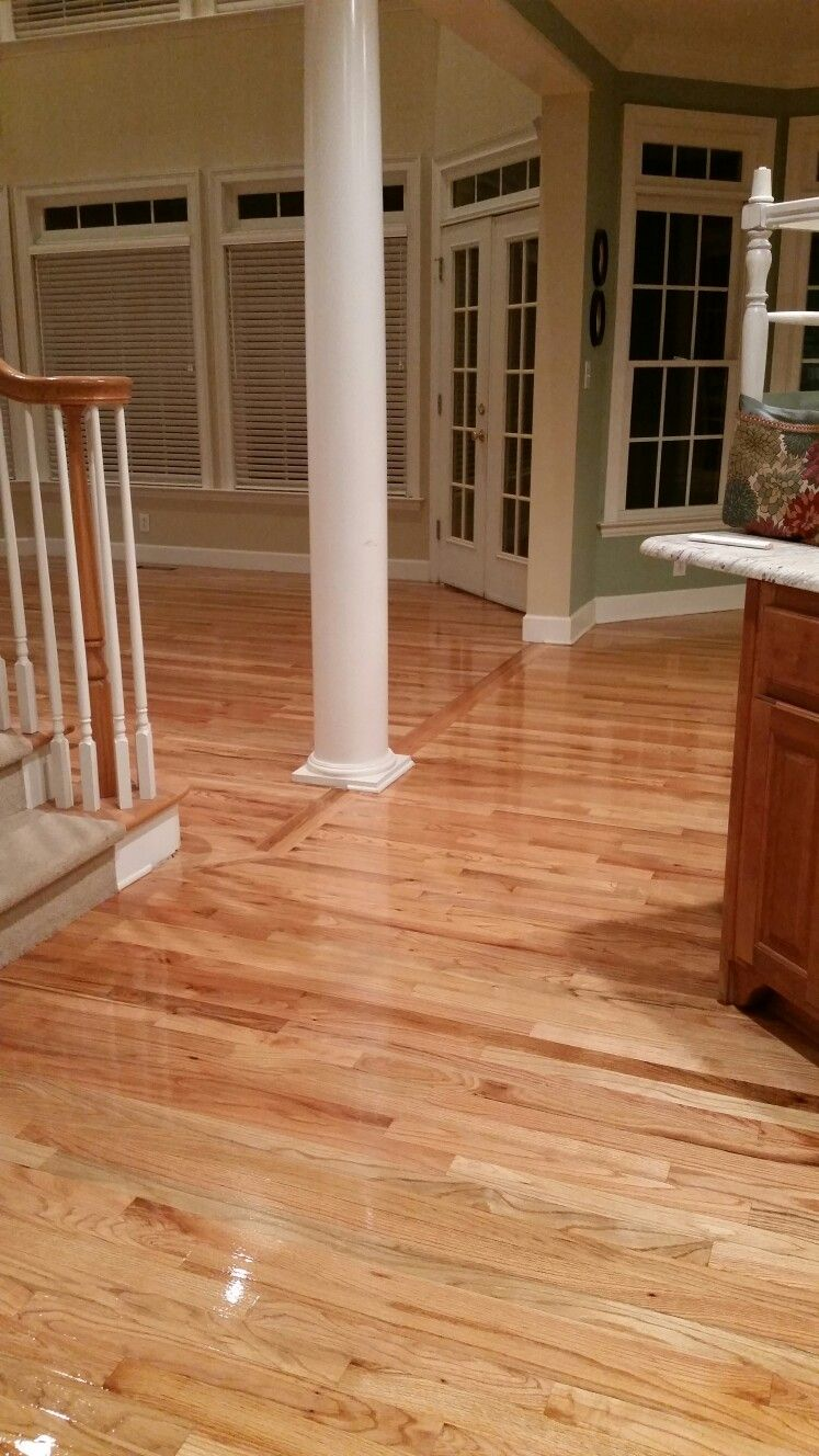 Natural Finish On Red Oak Floors Floors Ive Done In 2019