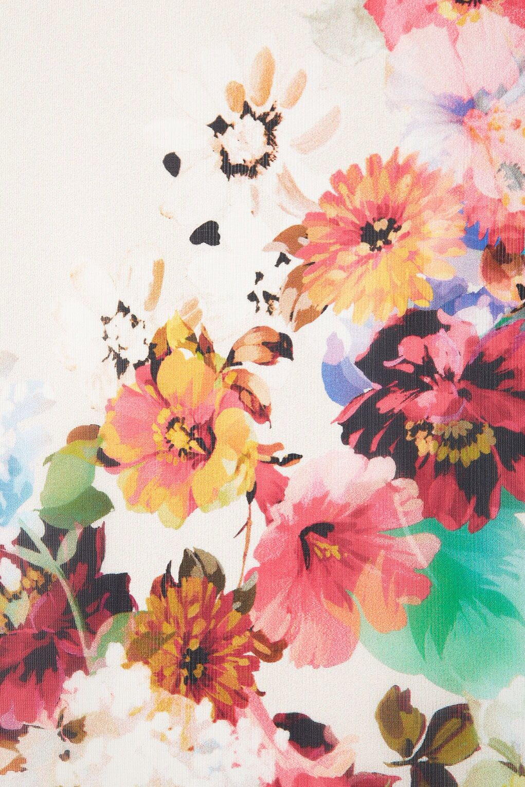 I Seem To Have A Thing For Vintage Watercolor Flowers Pattern