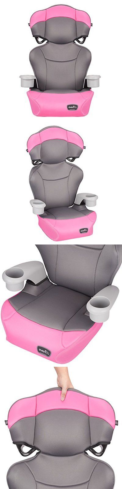 Car Safety Seats 66692 Evenflo Big Kid Amp High Back Booster Seat Pink Dove BUY IT NOW ONLY 5302 On EBay