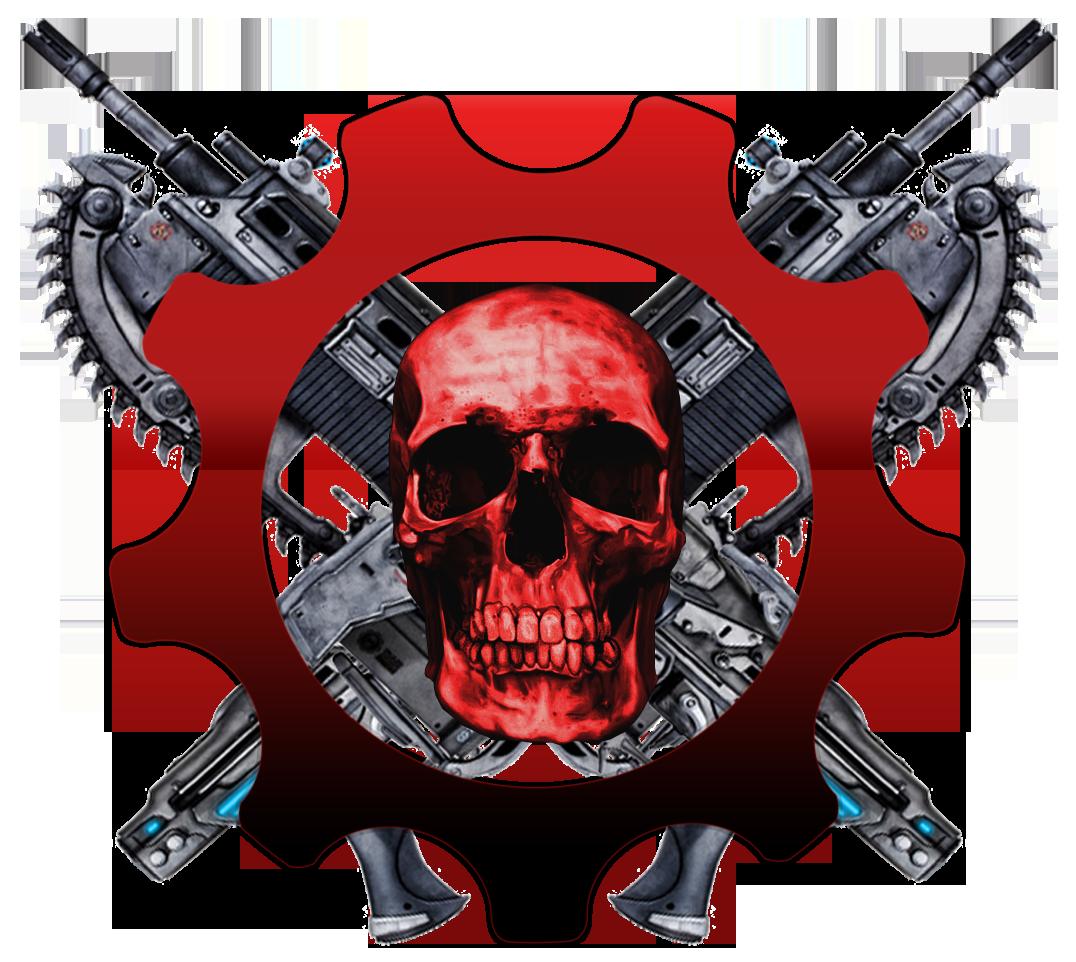 My Gears Of War Logo By Pagani F1 On Deviantart Gears Of War Gears War