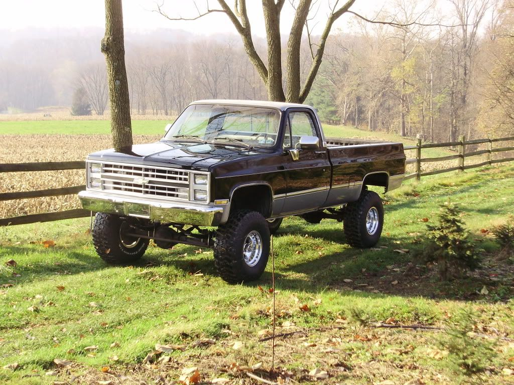 I had a 85 chevy shortbed 7 years ago an everyday i still miss it ...