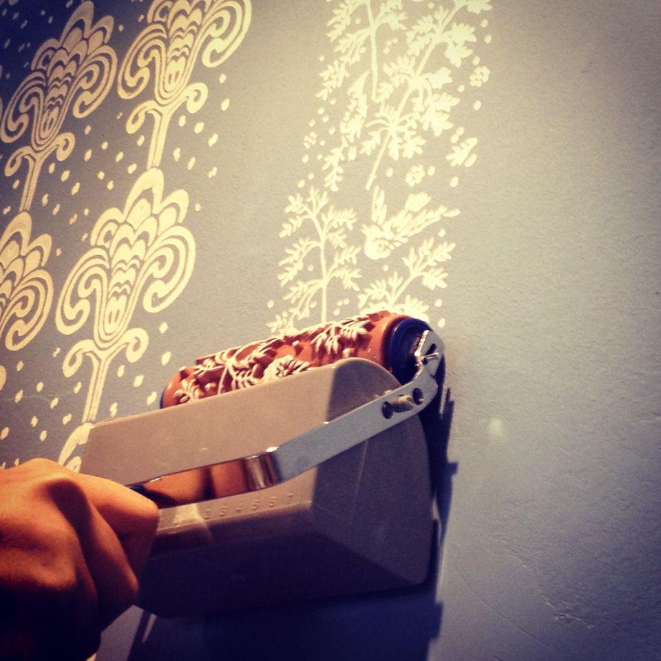 Rodillos para pintar paredes suelos muebles y telas con - Rodillos para pintar paredes ...