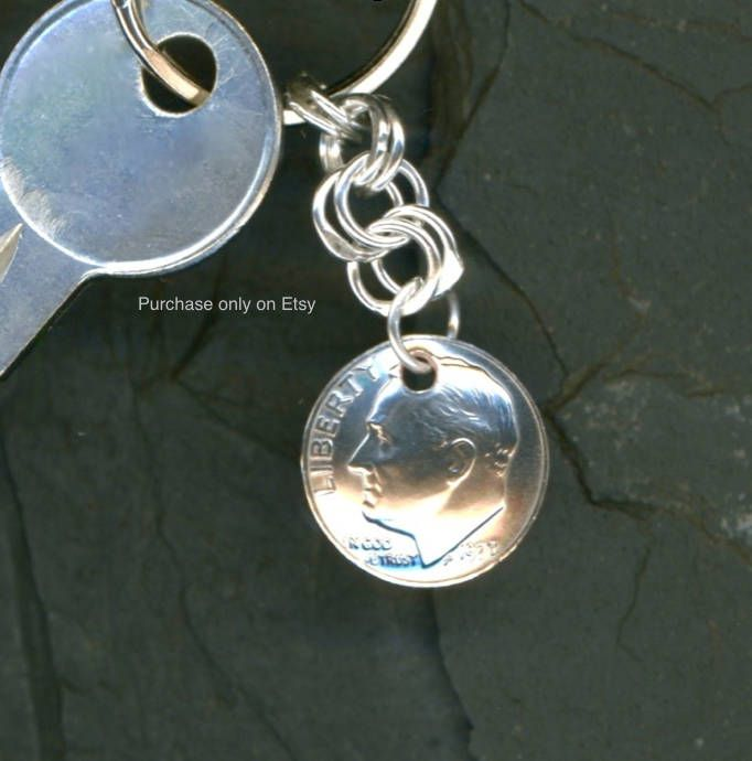 408662d99f2c4 71st Birthday Gift Ideas Jewelry 1948 Dangle Metalwork Penny Coins ...