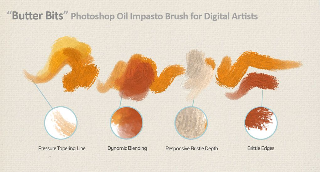 Free Photoshop Oil Painting Brush | Oil paint brushes, Oil ...