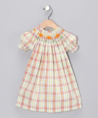 Sweet, smocked styles today - tomorrow, the smartest girl on the playground. Classic chic on #zulily today! #headofherclass