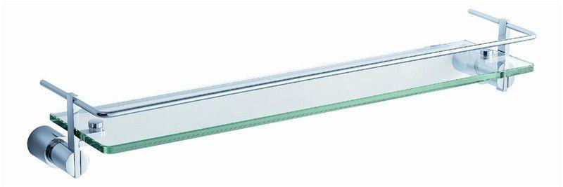Best Fresca Magnifico 21 Glass Shelf W Railing Chrome 400 x 300