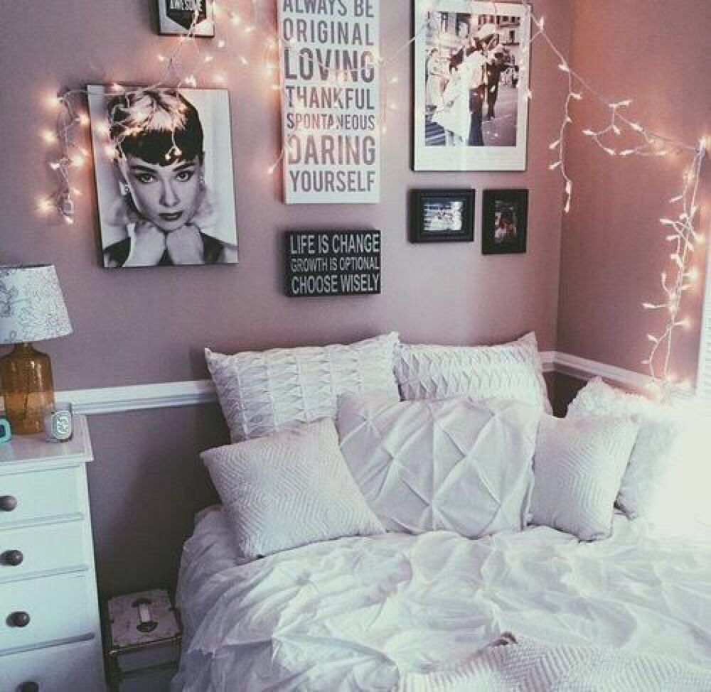 "room-decor-for-teens: ""Tumblr room "" 