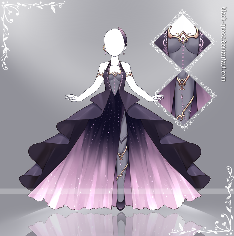 Photo of [closed] Queen of Hell Outfit Adopt | Auction by Black-Quose on DeviantArt