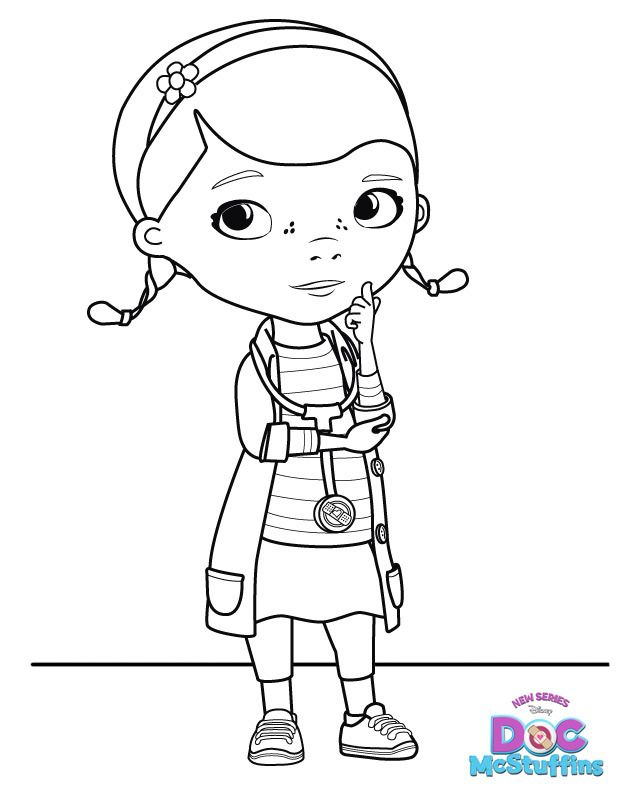 Doc Mcstuffins Free Printable Coloring Pages Doc Mcstuffins Coloring Pages Doc Mcstuffins Doc Mcstuffins Birthday