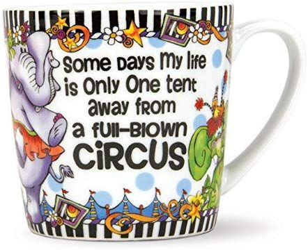 Brownlow Gifts Suzy Toronto Coffee Mug Circus Circus Gifts Gifts Birthday Gifts