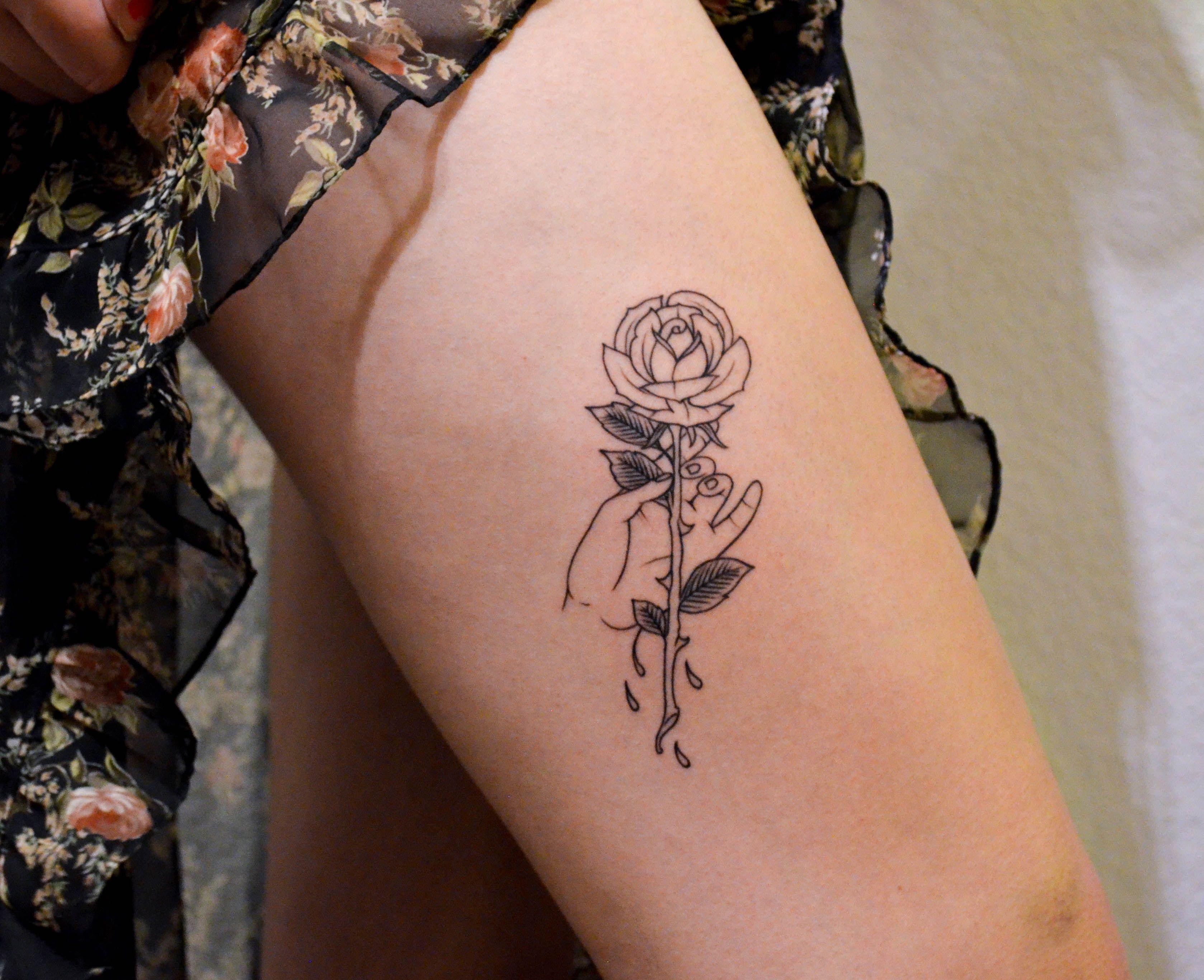 My first tattoo by Adam van Deutekom at Think Tank Tattoo in Denver